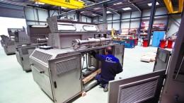 Foto: Nuevas Instalaciones de los intensificadores de Alta Presión