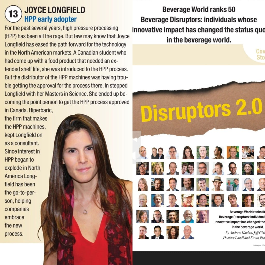 Hiperbaric - Joyce Longfield HPP Beverage Disruptor 2016