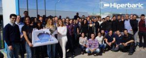 Celebración del día mundial del autismo a las puertas de nuestras instalaciones