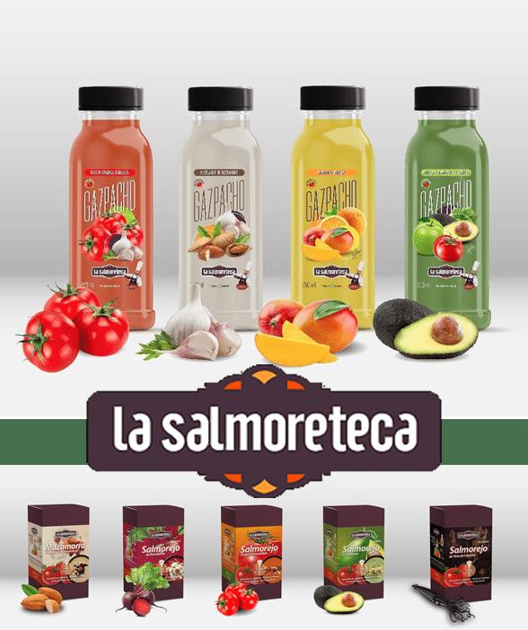 Gama de productos La Salmoreteca