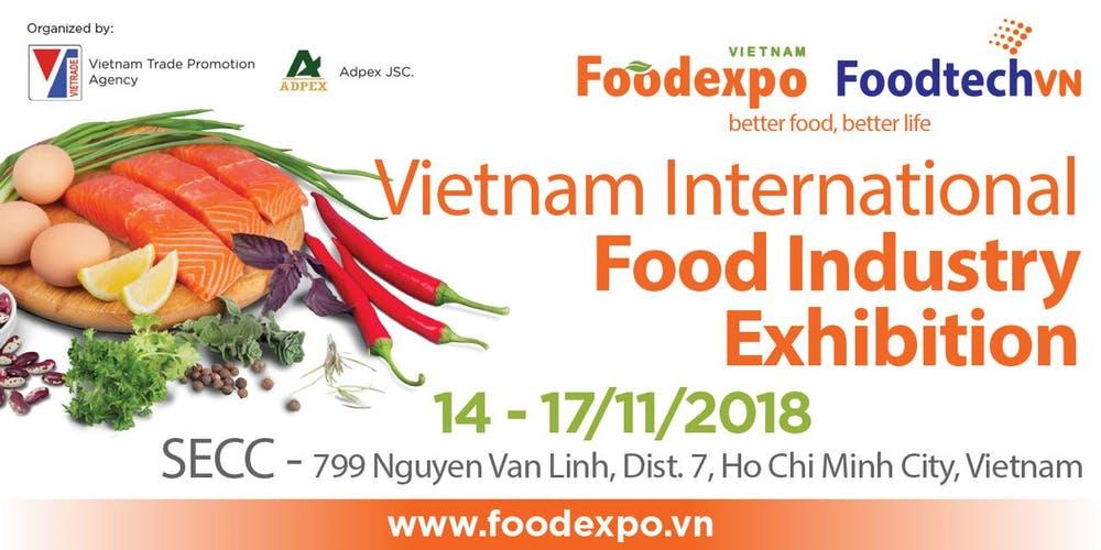 Anuncio Vietnam Food Expo 2018