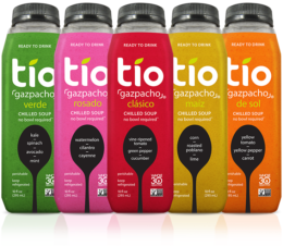 Gama de productos Tio Gazpacho: Fuente: Tio Gazpacho