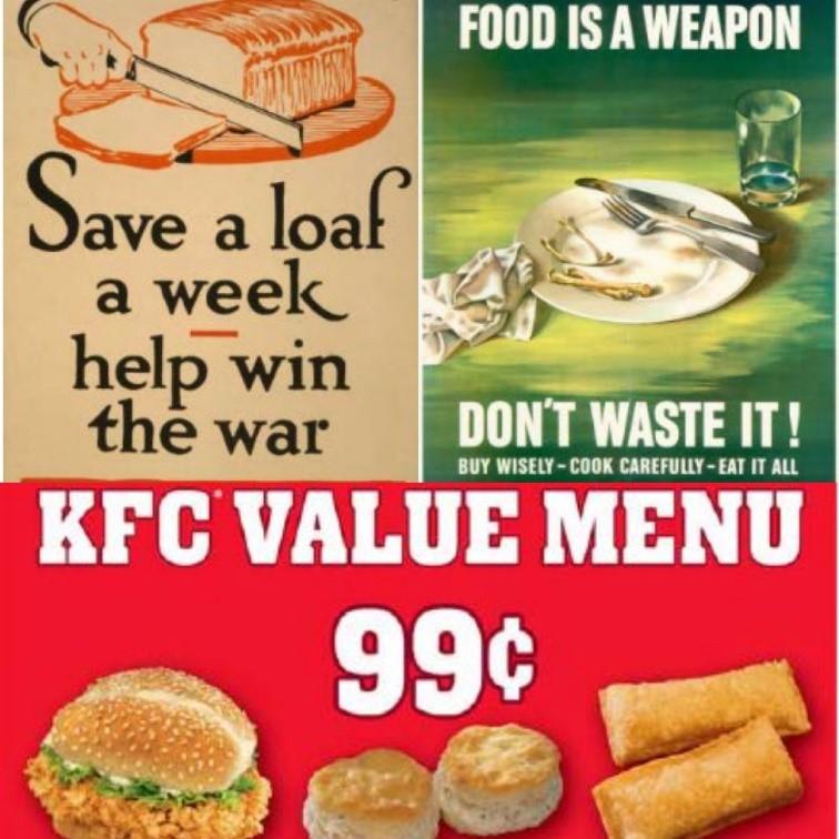 food waste advertising