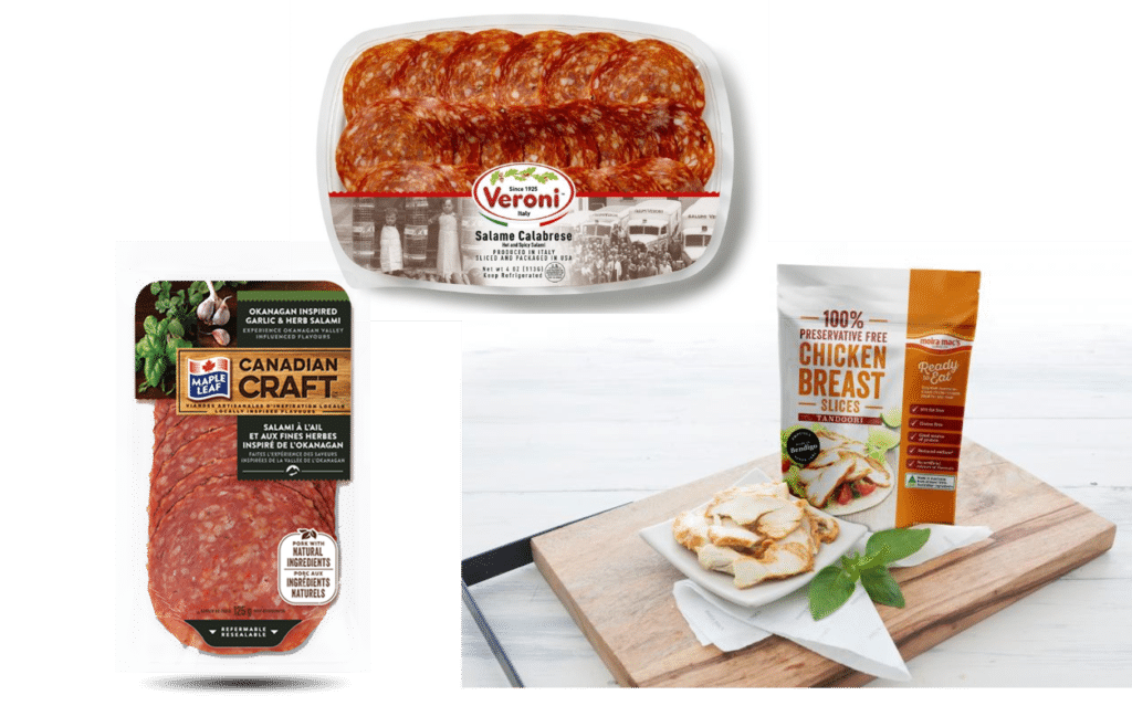Spicy meat products