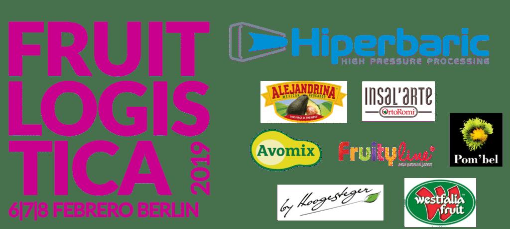 Clientes de Hiperbaric en Fruit Logistica 2019