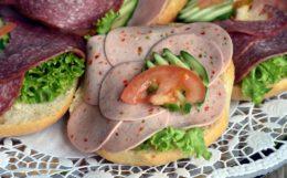 imagen de un sándwich