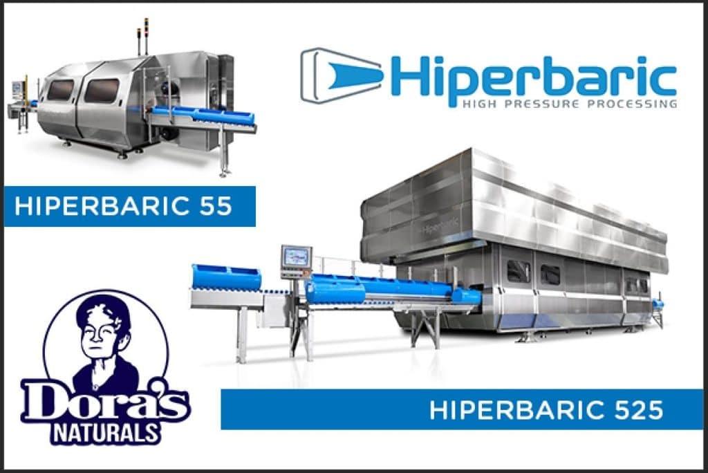 Doras Naturals HPP Equipment