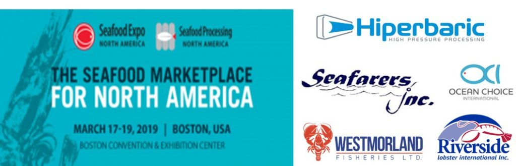 Customers who will attend Seafood Expo North America together with Hiperbaric
