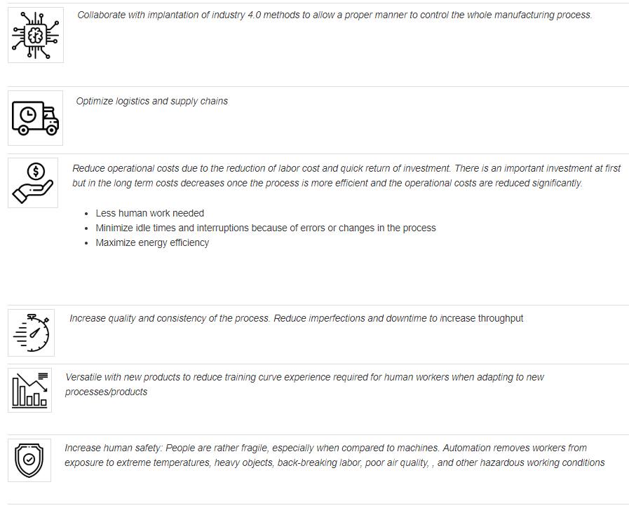 Beneficios de la automatización en HPP