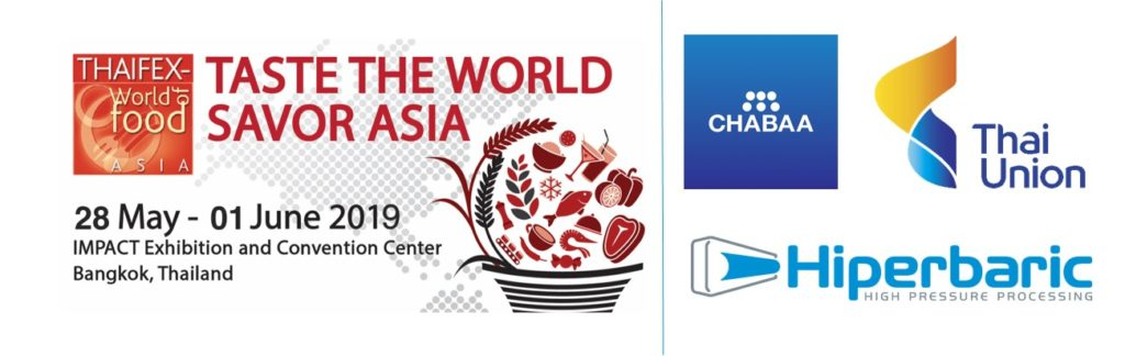 Banner del evento HPP THAIFEX – WORLD OF FOOD ASIA