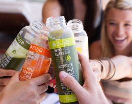 Envases HPP de la marca de zumos Suja