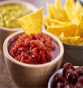 Salsas y dips