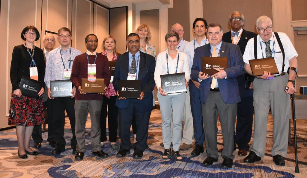 Imagen de los galardonados con el premio IFT
