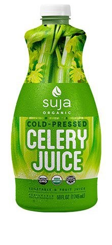 Imagen 2. Bebida HPP 'Celery Juice' de Suja.