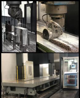 Figura 3. Infraestructuras del taller de mecanizado de precisión de Hiperbaric