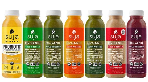 Suja es una de las marcas de zumos HPP mas conocidas en el mundo