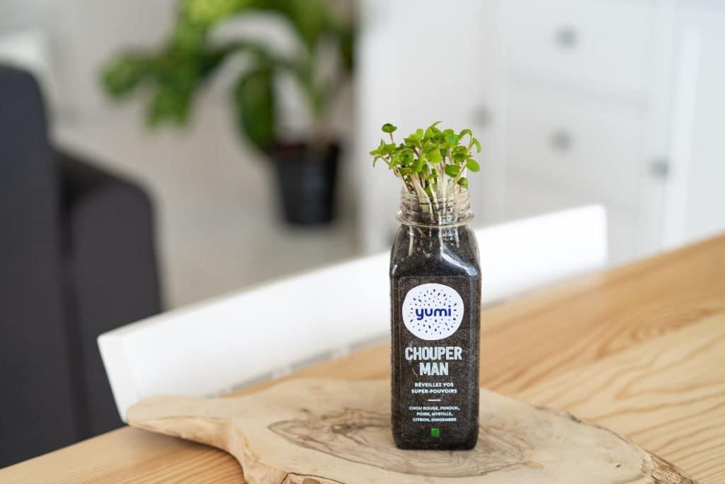 Biodegradable PLA Bottle of Yumi