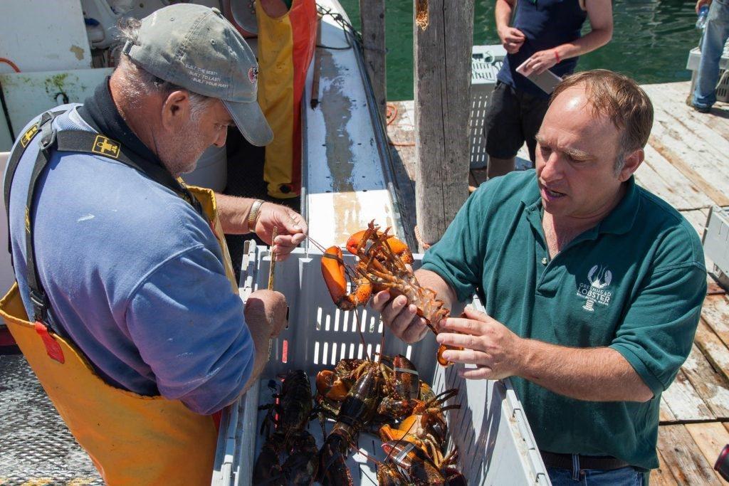 Hugh Reynolds, propietario de GreenHead Lobster
