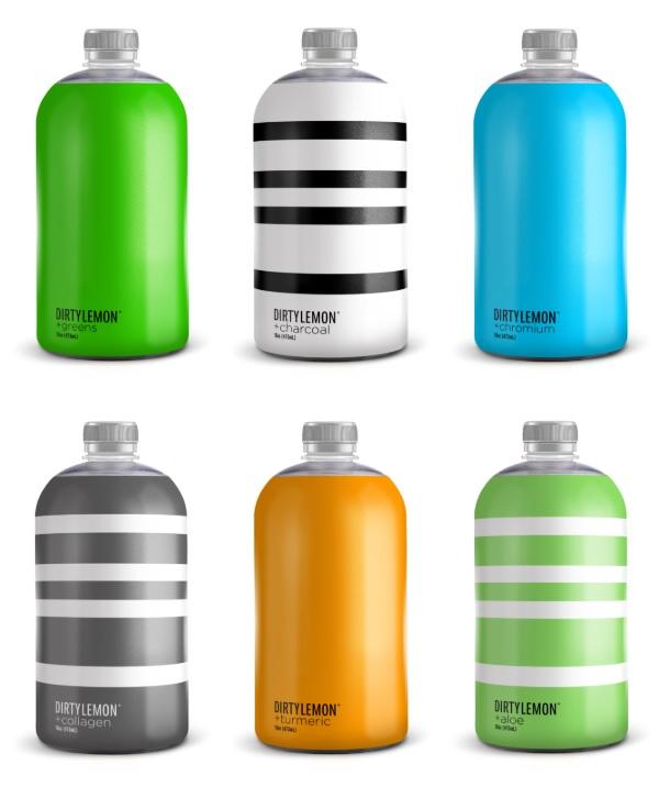 Dirty Lemon es uno de los principales vendedores de bebidas HPP en el mercado online