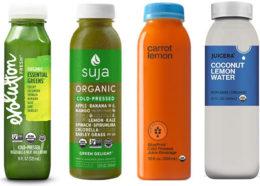 Figura 1. Productos HPP que incluyen zumos cítricos para desarollar sabores atractivos y ajustar el pH