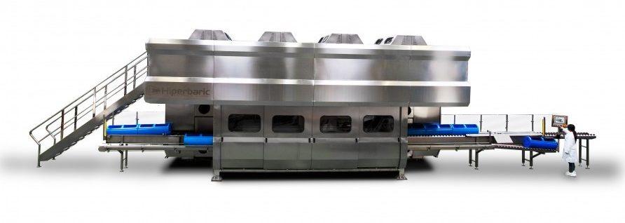 Hiperbaric 420, un equipo de máxima fiabilidad para la nueva generación de máquinas HPP.
