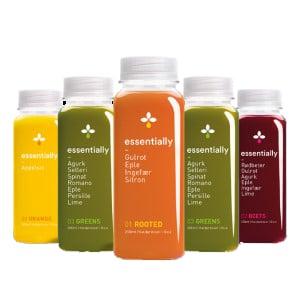 HPP juice range produced by Freshco AS.