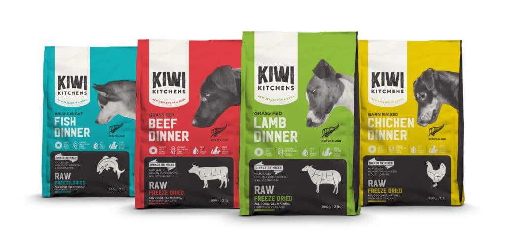Producto HPP liofilizado de la empresa Kiwi Kitchens en Oceanía