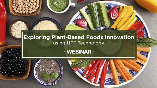 Webinar Hiperbaric: Exploring Plant-based foods innovation