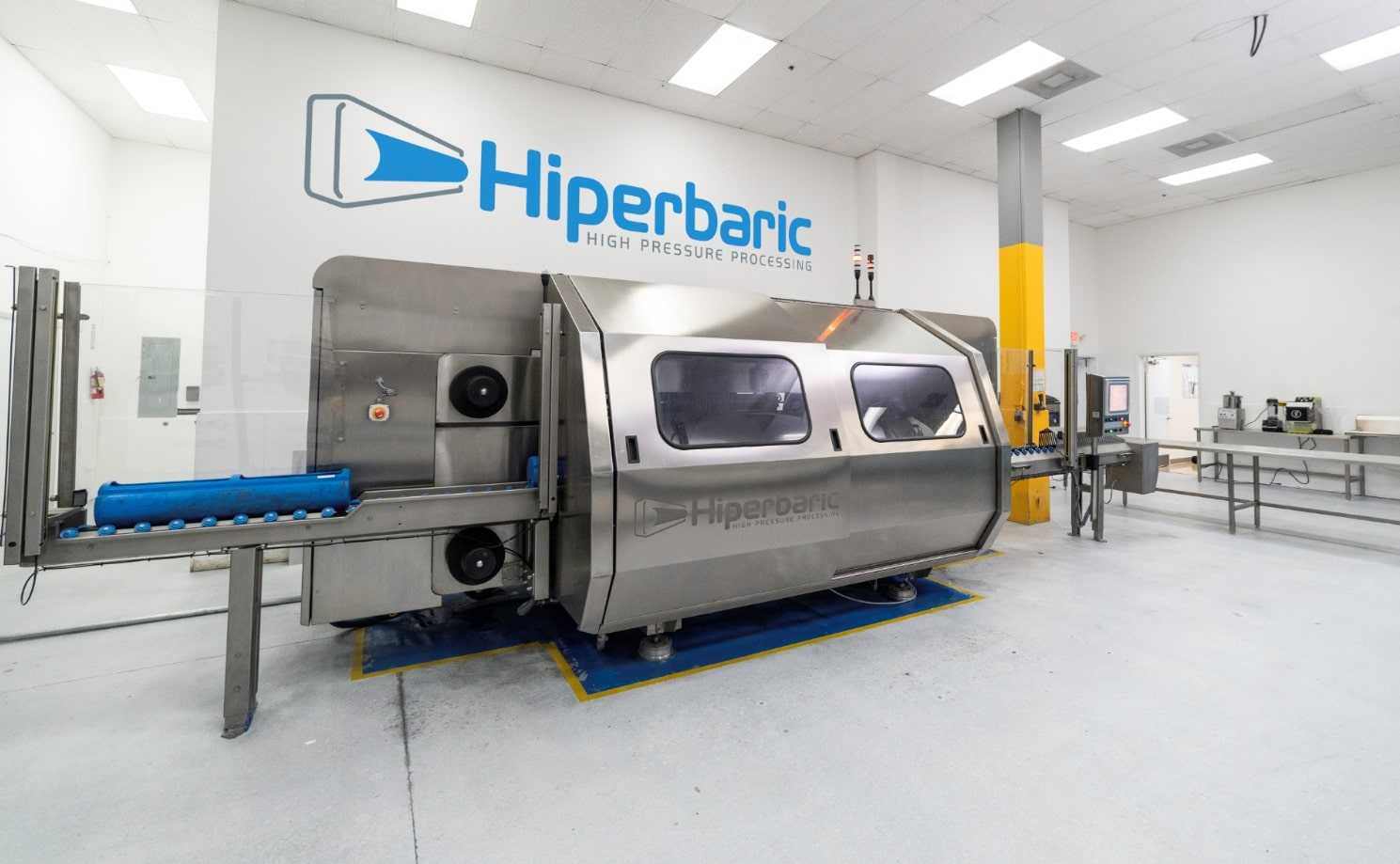 Pilot plant in Miami (USA) with a Hiperbaric 55