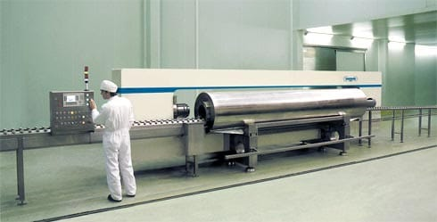 World's First Industrial Scale Horizontal HPP unit