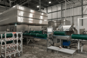 One of the 6 Hiperbaric HPP systems West Liberty Foods among four of their facilities