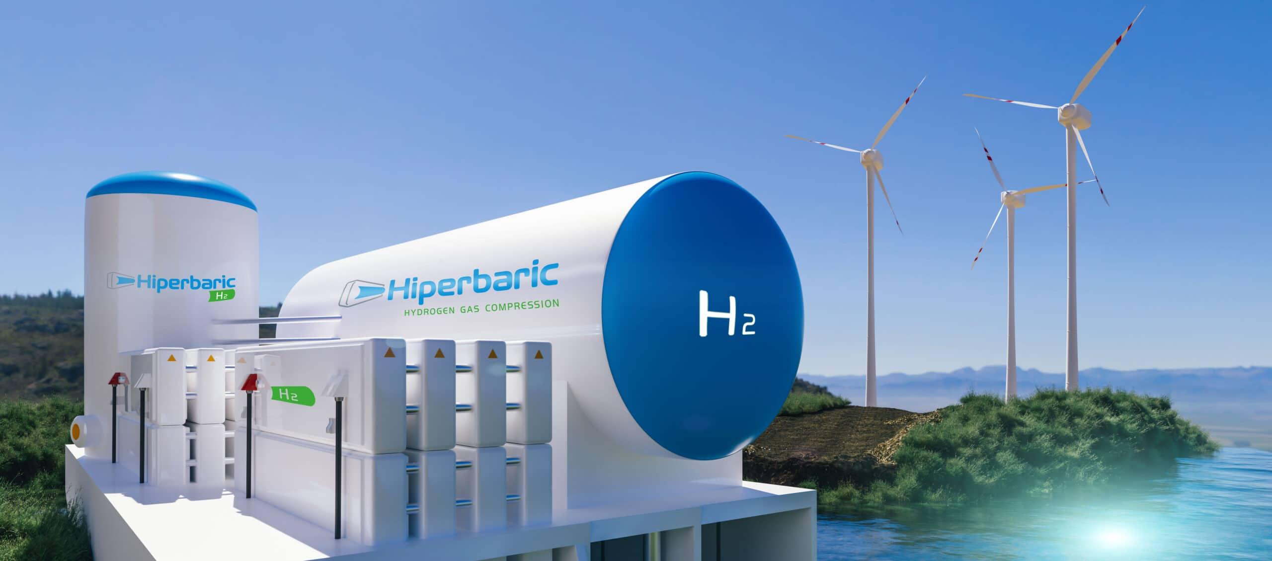 2. Almacenamiento de hidrógeno final