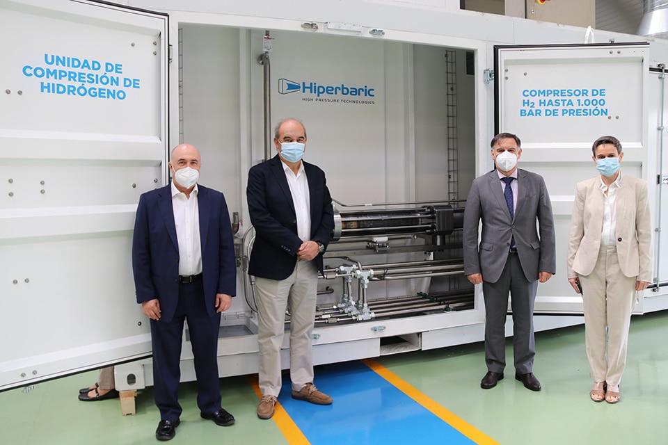 4.Hiperbaric CDTI_Unidad de Compresión de Hidrógeno